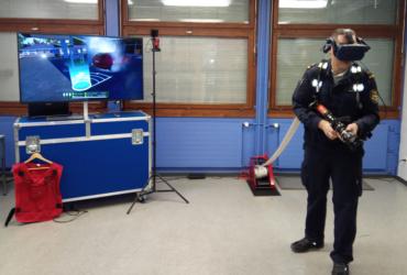 """Virtuelle Brände – reales Schwitzen: """"Atemschutz-Mobil<sup>VR</sup>"""""""