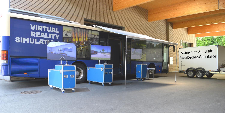Zusätzliche Arbeitsplätze für den Bus