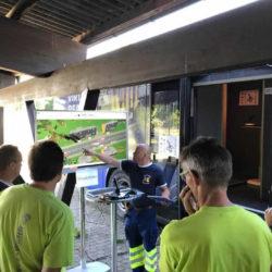 Feuerwehr Pfäffikon (ZH) und FW Fehraltdorf üben gemeinsam